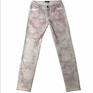 Marc Cain Snake Print Acid Washed Jeans